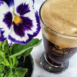 Freddo Espress (cold espresso) for the warm days