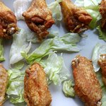 Muslitos de pollo al curry