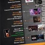 programme des soirées concerts