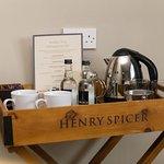 Tea/Coffee making facilities in bedroom 1 and bedroom 2