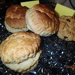 Scones made on the premises