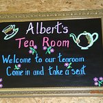 Our Tea Room Sign