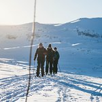 On the way to Klembu skiing (Foto: Bård Basberg)