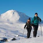 Skiing at Finse (Foto: Bård Basberg)