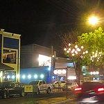 Avenida Nossa senhora de Fátima com excelentes opções de bar e restaurantes