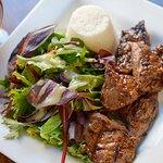 Bourbon Marinated Steak Tips