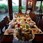 Petits déjeuners à bali dieppe chambres d'hôtes du restaurant Les Voiles d'Or