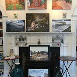 Original oil paintings, jewelry, photography and books for sale at Greater Good Gallery