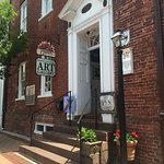 Greater Good Gallery is located on the first floor of the historic Isaac Taylor House in New Ber