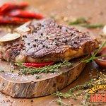 Блюдо стейк тибон