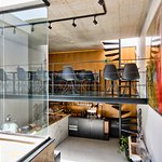 Indoor Breakfast Area