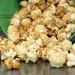 Traditional kettle corn with a twist--salted caramel.