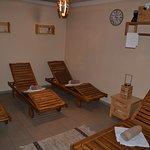 Odpočívárna vedle sauny