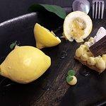 Dessert au Citron de Sicile et Chocolat Ivoire