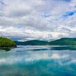 The beautiful, giant Khuvsgul lake. A must visit for travelers to mongolia