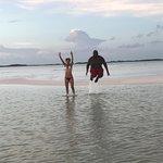 Sand Bar, Exuma Bahamas, where land meets sea, beauty meets wonder and 'you find a new you'