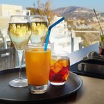 Your Drink in our Wine bar in Fira Santorini