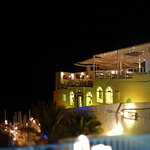 "The night with best Food in Fira Santorini ""1500"""
