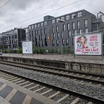 Hotel view from S-Bahn station