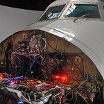 Kokpit letadla DC-9