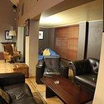 ...a com-fii lounge area in the bar