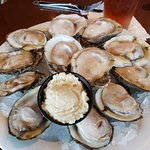 oysters - must be bay raised as they weren't overly salty