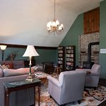 Our great room offers books, games, a wood stove, a place to relax after a day of exploring Verm