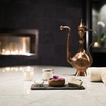 Indulge in a Hammam treatment that allows hot steam to open your pores and release toxins