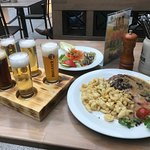 Schnitzel with noodles & Beer tastings
