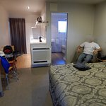 spacious room, nice layout