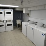 Here is the laundry room.