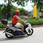 ride motorbike in ninh binh