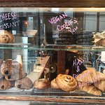 Good muffins and coffee in West Queen West.