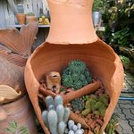Re-using damaged pots, many great ideas for the creative persons