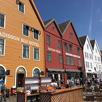 Close-up of Bryggen