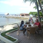 Asia Divers dive center is attached to El Galleon Resort which is located on the waterfront