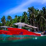 We have two twin engine speedboats which can get us to Verde Island in less than 30 minutes