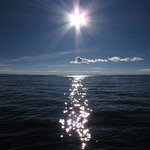 The sun is intense at the altitude of Lake Titicaca!