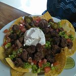 Nachos with Beef