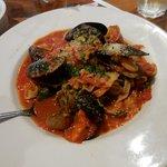 Seafood Fettuccine (special)