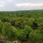Panoramic view at the top of Prasat Thom - Koh Ker