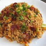 Fried Rice with Pork Sausage