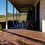 Cellar door offers outside seating and views