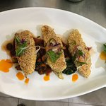 Sesame Crusted Poulet Fish