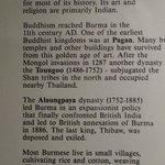 Information about Burma - land of pagodas