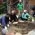 Retreat to make permaculture garden リトリート