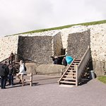 General view of entrance to the mound