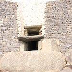 Entrance to mound