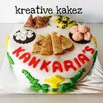 Foodie lover cake