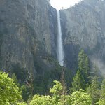 bridalvail fall from a small distance
